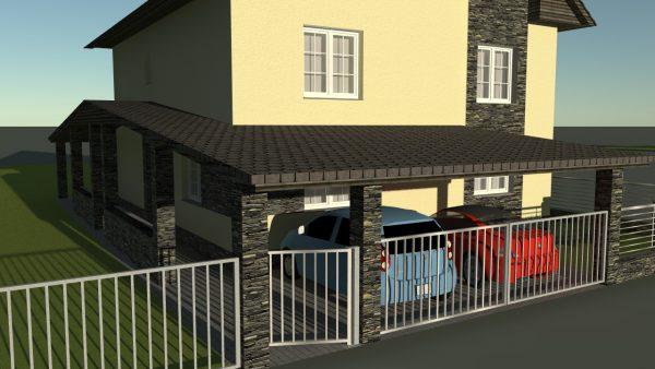 Rodinný dom, Čierny Balog (rekonštrukcia)